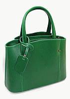 Сумка Vera Pelle FX2600green кожаная Зеленый