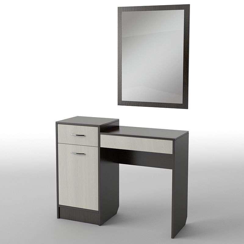 Туалетний будуарний столик з ДСП/МДФ в спальню БС-1 Тіса меблі