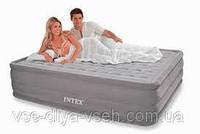Надувная кровать Intex 66958(ортопедическая) Ultra Plush со встроенным електронасосом