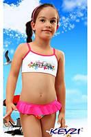 Купальник для девочки Batterfly, TM Keyzi (Польша) розовый р.92, 98, 104, 116