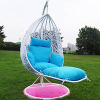 Купить подвесное кресло с подставкой