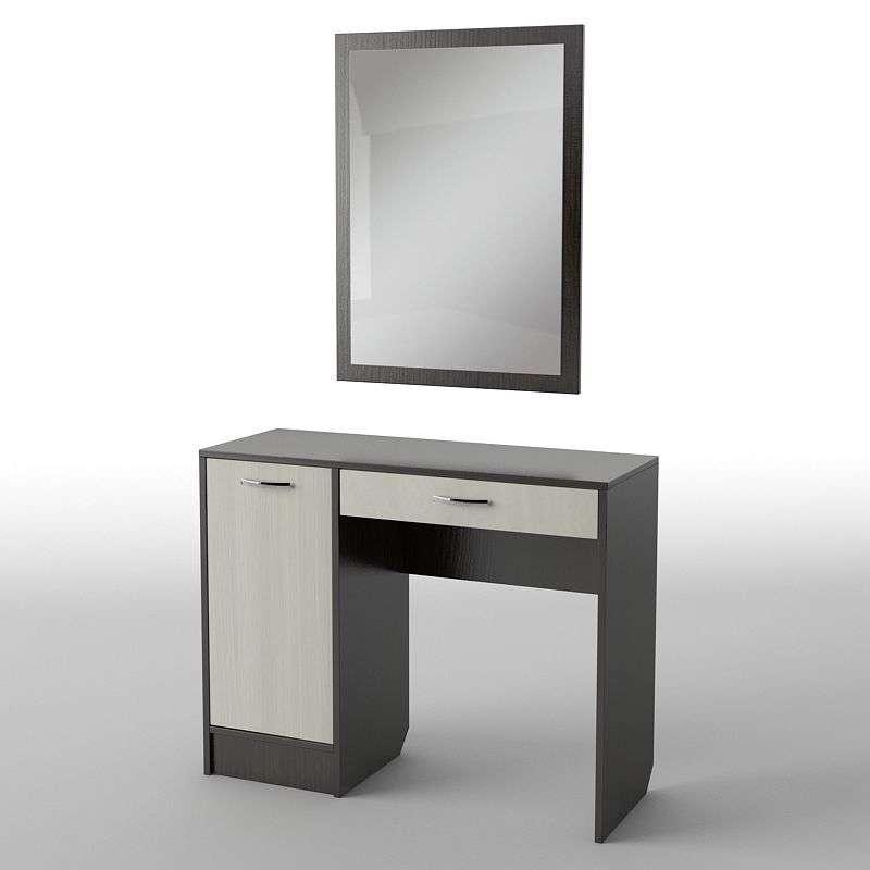 Туалетний будуарний столик з ДСП/МДФ в спальню БС-31 Тіса меблі