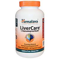 Himalaya Herbal Healthcare, Liver Care (забота о печени), 180 вегетарианских капсул