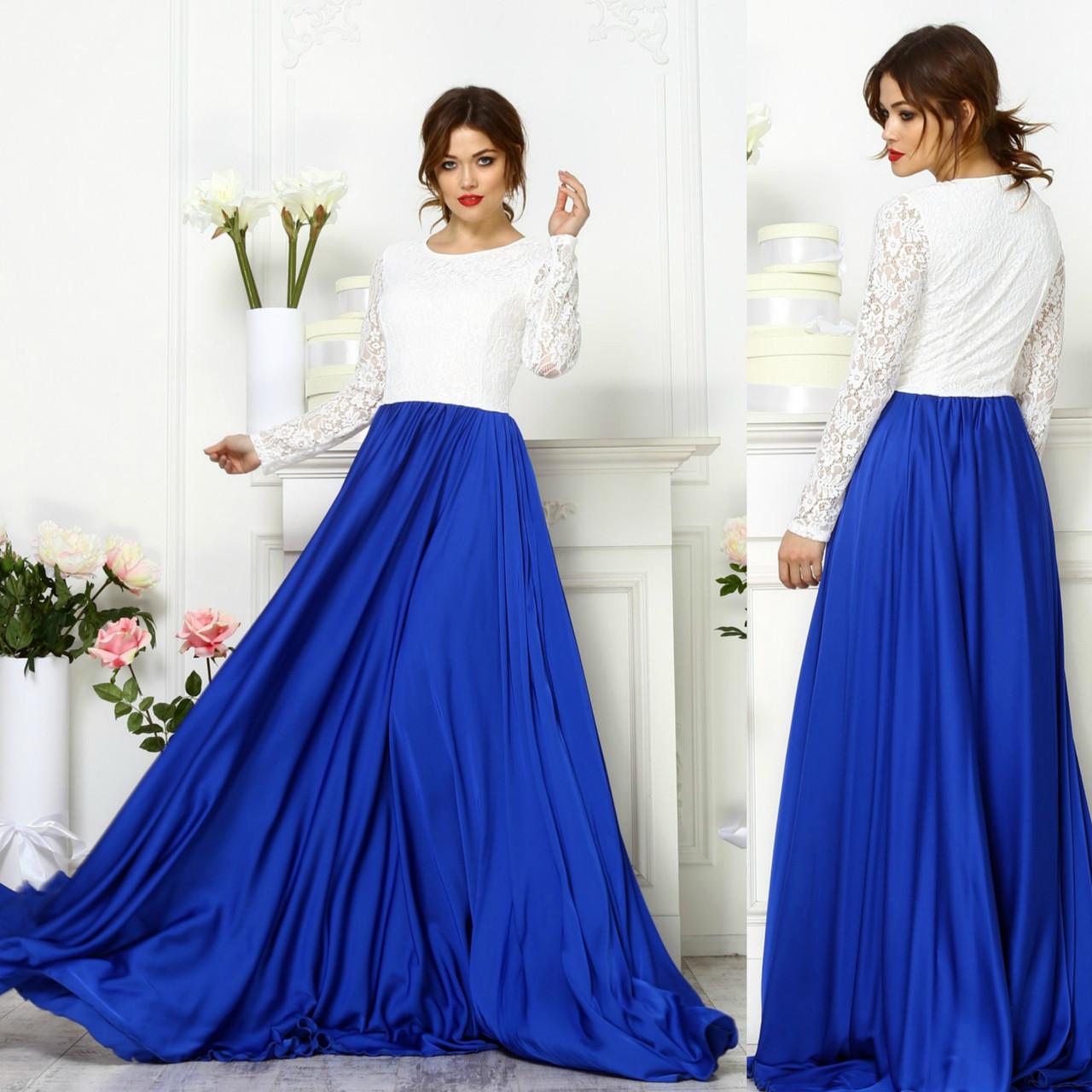 e471abd9d5d Вечернее синее платье  продажа