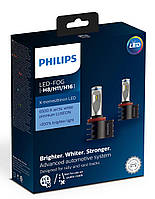 Комплект диодных ламп PHILIPS 12794UNIX2 X-tremeUltinon +200% LED Fog H8/H11/H16  X2