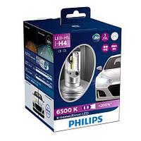 Комплект диодных ламп PHILIPS 12901HPX2 H4 X-tremeUltinon +200%