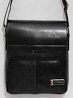 Мужская сумка через плечо высота 20-см, фото 1