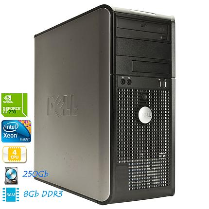 Игровой компьютер Xeon E5450 3,0GHz 4 ядра/8GB/250GB/GT 730, фото 2