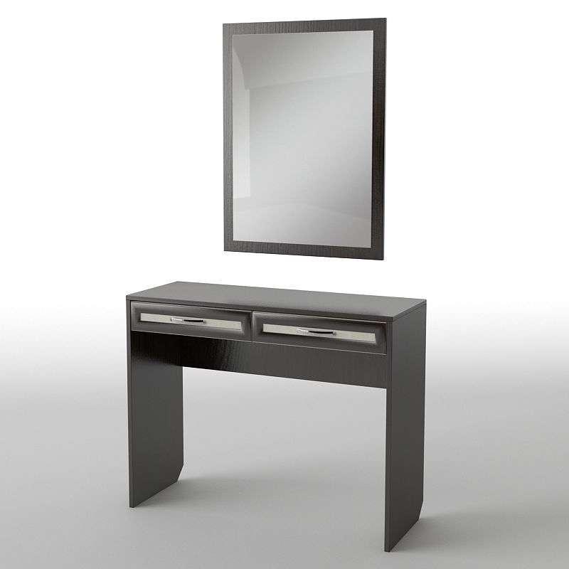 Туалетний будуарний столик з ДСП/МДФ в спальню БС-22 Тіса меблі