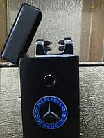 Электэлектроимпульсная зажигалка USB зажигалка M3. Электронная дуговая зажигалка. Mercedes, BMW