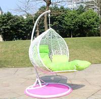 Купить белый кресло кокон с подставкой для ног онлайн