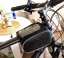 Велосипедная сумка на раму Roswheel, фото 2