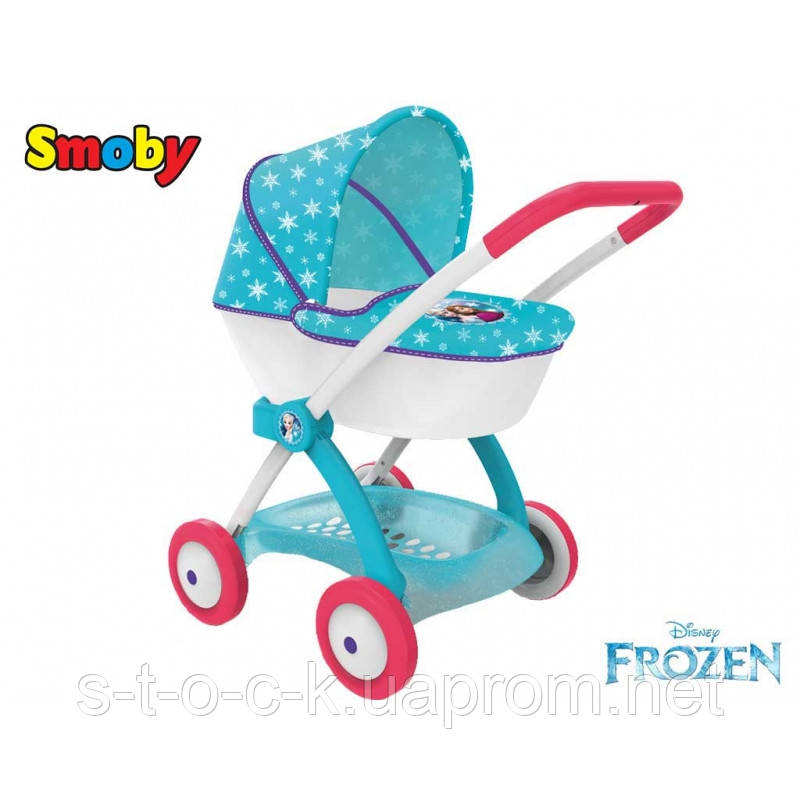 Коляска-люлька для кукол Frozen Smoby 254145
