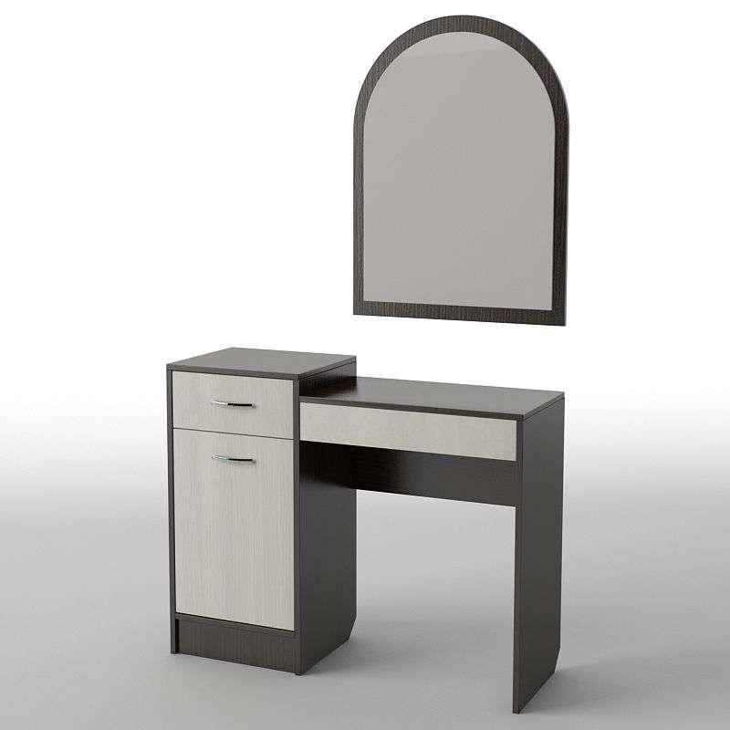 Туалетний будуарний столик з ДСП/МДФ в спальню БС-3 Тіса меблі