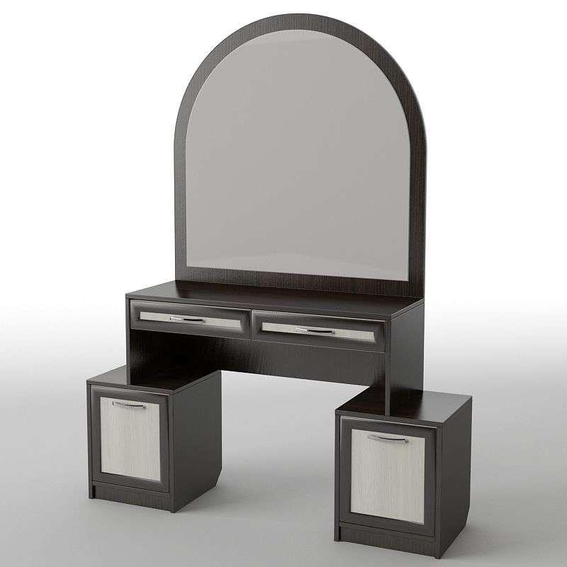 Туалетний будуарний столик з ДСП/МДФ в спальню БС-18 Тіса меблі