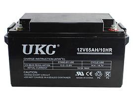 Гелевый аккумулятор UKC Battery Gel 12V 65A CK