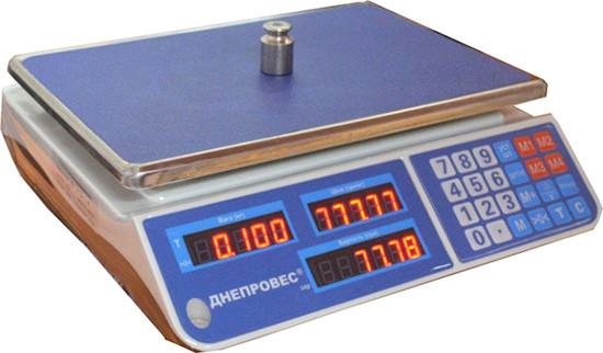 Весы торговые Днепровес F902H-EL1. Весы для магазина
