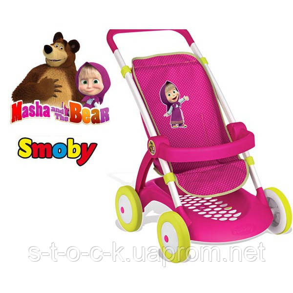 Коляска для кукол прогулочная Маша и Медведь Smoby 254001