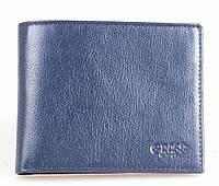 Кошелёк Grass 444-18-15blue кожаный Синий