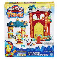 Набор Play-Doh Town Firehouse Пожарная Станция. Оригинал