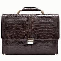 Портфель Desisan 5006-19brown кожаный Коричневый