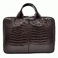 Портфель Desisan 052-19brown кожаный Коричневый