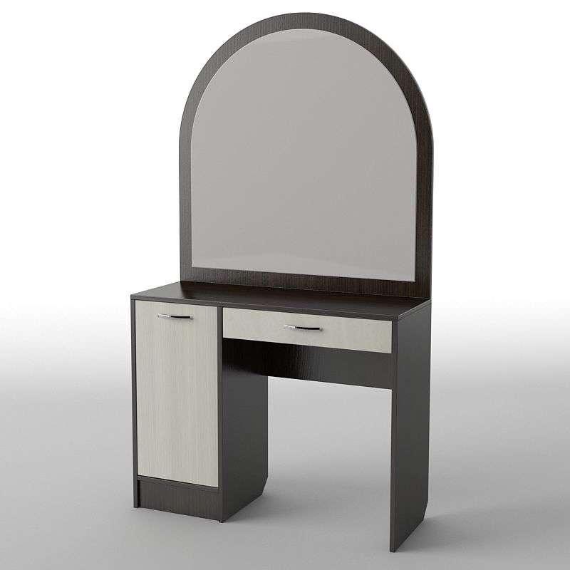 Туалетний будуарний столик з ДСП/МДФ в спальню БС-33 Тіса меблі