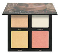 HUDA BEAUTY Палетка хайлайтеров - 3D Highlighter Palette Pink Sands, фото 1