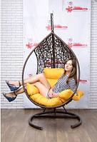 Купить подвесной кресло кокон шар из ротанга в Павлограде