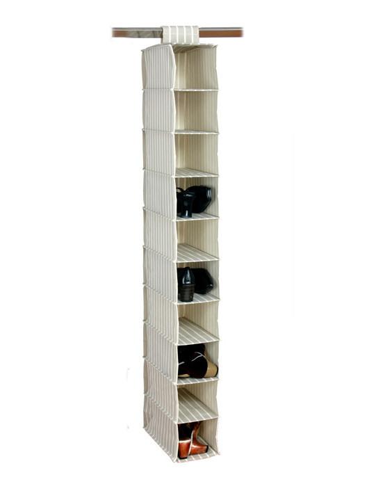 Подвесной органайзер для хранения одежды на 10 полок, фото 1