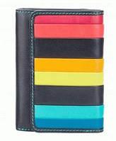 Кошелёк Visconti STR-3 BLK MULTI кожаный Разные цвета