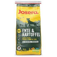 Josera ENTE KARTOFFEL GRAINFREE - полноценный корм без зерновых с мясом утки 4кг