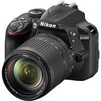 Фотоаппарат NIKON D3400 18-140 VR Black (VBA490KV01)