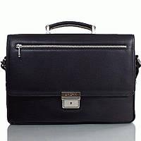 Портфель KARYA 0345-45black кожаный Черный
