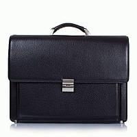 Портфель KARYA 0666-45black кожаный Черный