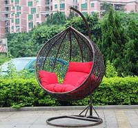 Купить садовую плетённую мебель кресло кокон шар во Львове