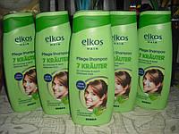 Шампунь Elkos Hair 7 Kräuter Семь трав 500 мл., Германия (Элькос)