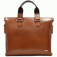 Портфель Desisan 1341-015 кожаный Коричневый