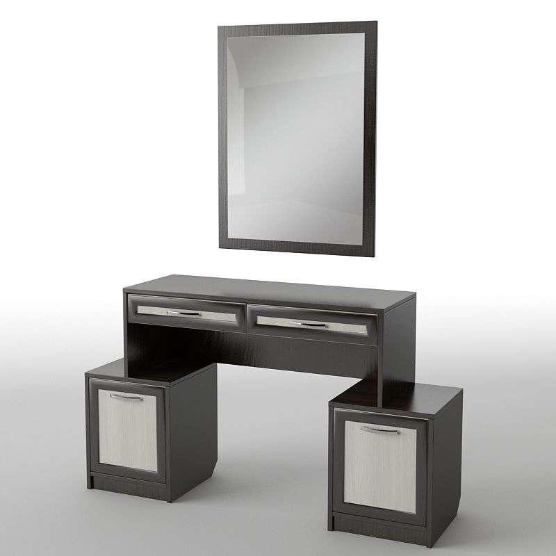 Туалетний будуарний столик з ДСП/МДФ в спальню БС-16 Тіса меблі