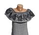 "Жіноче вишите плаття ""Кенан"" (Женское вышитое платье ""Кенан"") PJ-0002, фото 2"