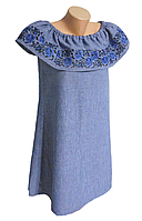 "Жіноче вишите плаття ""Кендіс"" (Женское вышитое платье ""Кенди"") PJ-0001"
