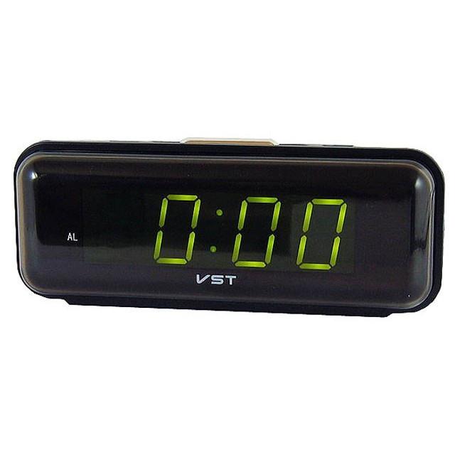 Часы VST 738 Green, настольные часы, часы с будильником, электронные часы,  электронный e7971ca8142