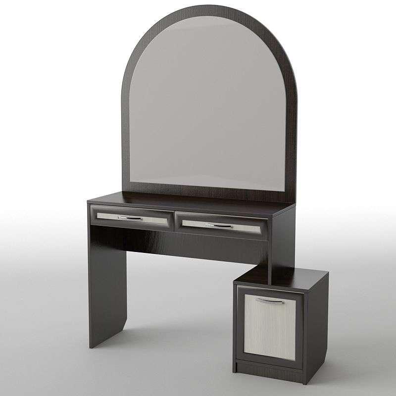 Туалетний будуарний столик з ДСП/МДФ в спальню БС-12 Тіса меблі