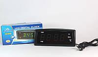 Часы CX 868 yellow green, Настольные электронные часы, часы с подсветкой, Led часы, цифровые часы led