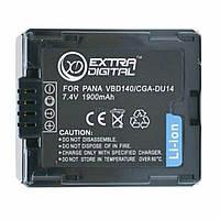 Аккумулятор к фото/видео EXTRADIGITAL Panasonic CGA-DU14 (DV00DV1182)