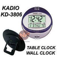 Электронные цифровые настольные Часы KD-3806N, часы с термометром,  часы для дома, часы будильник