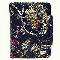Кошелёк Desisan 086-415hohloma кожаный Черный