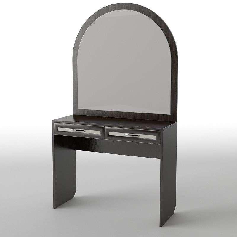 Туалетний будуарний столик з ДСП/МДФ в спальню БС-24 Тіса меблі