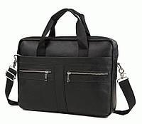 Портфель Bexhill Bx1120A кожаный Черный