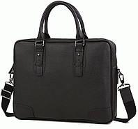Портфель Bexhill M47-22474A кожаный Черный